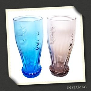 2013 MCDONALD'S LTD EDITION Coca-Cola Glasses (2)